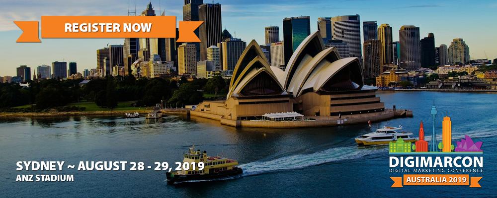 DigiMarCon Australia 2019 Register